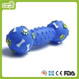 飼い犬の足跡のダンベルのおもちゃの製品