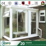 Spätester Entwurfs-hölzerne Innenraum-Tür mit ausgeglichenem Glas