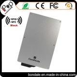 Uso della carta di credito e raccoglitore materiale del supporto della protezione dell'alluminio RFID