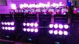 8PC*10W RGBW 4 in 1 LED-Armkreuz-Träger-beweglichem Hauptlicht
