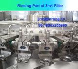 3 dans 1 machine de remplissage de l'eau minérale pour la bouteille d'animal familier