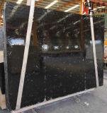 Слябы мрамора нефрита китайского начала естественные каменные черные для Countertop