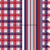 100%Polyester Pigment&Disperse espiègle a estampé le tissu pour le jeu de literie