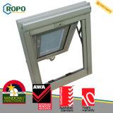 UPVC/PVC 플라스틱에 의하여 이중 유리로 끼워지는 Windows, 최고 걸린 Windows