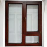 Qualitäts-Doppelt-ausgeglichenes Glas-Aluminiumfenster Foshan-Woodwin
