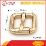 Rouleau en alliage de zinc Bukle de boucle de courroie de Pin de Jinzi petit pour le sac à main