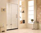 Partición clara aprobada australiana de la ducha del vidrio Tempered (T2)