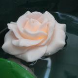 De leuke Drijvende Kunstmatige Batterij In werking gestelde Plastic LEIDENE Bloemen van de Pioen voor Kinderen