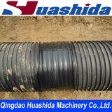 Ligne ondulée d'extrusion de production de pipe
