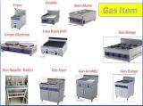 De Commerciële Braadpan van uitstekende kwaliteit van het Gas van het Roestvrij staal met Kabinet