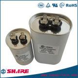 Capacitor de funcionamento duplo do motor de C.A. do capacitor da C.A. da fonte de alimentação do capacitor Cbb65