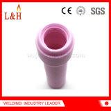 obiettivo di ceramica del gas dell'ugello dell'allumina 796f76 per il cannello per saldare di TIG