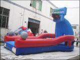 Juego inflable del deporte de Interacitve de la clavada del golpe para los cabritos y los adultos T9-701