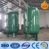 Réservoir actif mécanique à haute pression de filtre de carbone pour l'usine de traitement des eaux