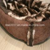 Haustier-Zubehör-Entwurfs-Katze-Sofa-Bett-Luxuxhundebettwäsche