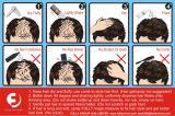 Fibre dei capelli che costruiscono immediatamente capelli