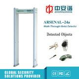 Metal detector di Digitahi degli indicatori luminosi di indicazione del LED per l'ufficio postale