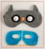Mascherine Relaxing di terapia di rilievo del gel dell'occhio freddo caldo della peluche