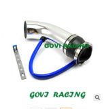 всасывающая воздушная труба автомобиля 3in алюминиевая с универсалией 260mm для вводить в моду автомобиля