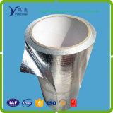 Barrière radiante tissée desserrée de tissu de papier d'aluminium comme couche antigel