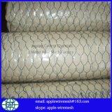 Rete metallica esagonale rivestita del PVC