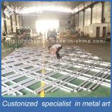 Verdeling van het Scherm van de Zaal van de Muur van het Metaal van de Kwaliteit van Hight de Decoratieve Binnenlandse Vouwende