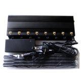 De regelbare 8 Stoorzender van de Telefoon van de Cel van Antennes GPS/WiFi/4G (LTE+Wimax)