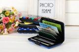 Подгонянный алюминием выдвиженческий держатель кредитной карточки людей подарка