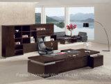 Mesa moderna de oficina de lujo elegante escritorio jefe / escritorio ejecutivo (hf-lwp8010)