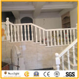 Balaustres de piedra de mármol de talla naturales modificados para requisitos particulares del granito