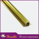 Ouro Polished contínuo para as tiras de alumínio da telha do afastamento do assoalho