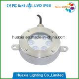 IP68 6W 스테인리스 LED 수중 샘 빛