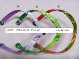 PVC тапочки женщин типа способа верхний связывает верхушку Flipflop (TM004)