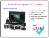 """câmera subaquática DVR da pesca de 7 """" LCD com cabo de 50m"""