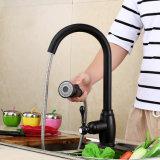 Faucet de cobre cheio europeu da cozinha Fa015