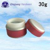 熱い販売30g無光沢の赤いFace&Eye&Bodyのクリーム色の瓶