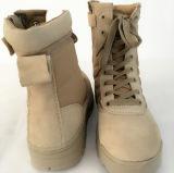 軍のジッパーの殴打のブート、砂漠の軍隊の戦闘用ブーツ