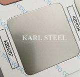 Feuille gravée en relief d'acier inoxydable de fini de solides solubles 304 à Foshan