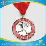 A liga feita sob encomenda do zinco do fabricante morre a medalha do metal da carcaça para a lembrança dos esportes (XF-MD01)