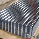 Matériau de feuille ondulé de toiture en métal de zinc en aluminium