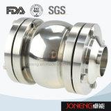 Válvula de acero inoxidable tipo abrazadera de comestibles no retorno (JN-NRV2002)
