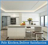 Cozinha personalizada porta do MDF do PVC
