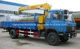 6 tonnellate 7 tonnellate di gru montata camion 8 tonnellate di camion della gru da vendere