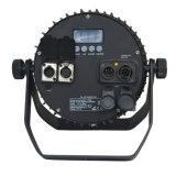 Neutrik Powercon True1 연결관을%s 가진 단계 점화를 위한 RGBWA+UV 전문가 IP44 LED 동위 빛