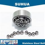bola de acero inoxidable AISI316, rodamientos de 3.9688m m de bolas