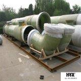 Instalación de tuberías de FRP - codo con el peso ligero