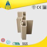 가벼운 환경 플라스틱 밀어남 PVC Windows 단면도