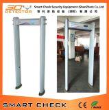 Detetor de metais do frame de porta, caminhada através do detetor de metais, varredor cheio do corpo