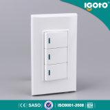 Тип 3 переключатели Igoto 120 кнопка шатии 1way сделанные в Китае