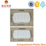 5 de verticale Doos van de Opslag van het Compartiment Plastic